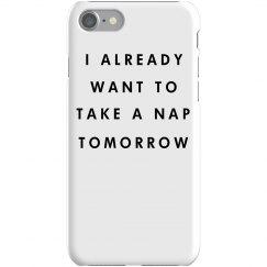 Taking Naps iPhone 7 Phone Case