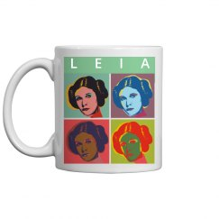 Space Princess Parody Mug