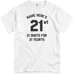 21 Shots For 21 Years