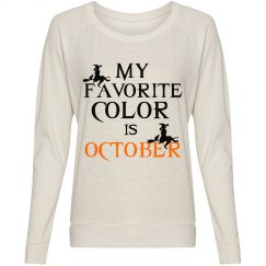 FAVORITE COLOR OCTOBER