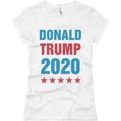 Trump 2016 Ladies Top