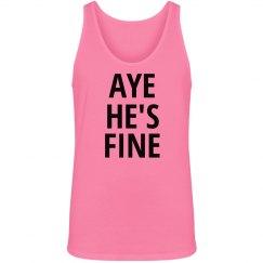 Aye He's Fine