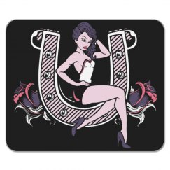 Lady Luck Mousepad
