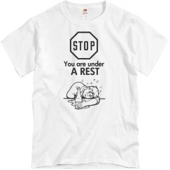 Stop/You Are Under A Rest