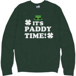 Oh It's Paddy Time St Patricks