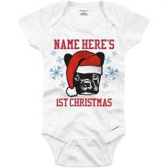 Custom Baby's 1st Xmas Onesie