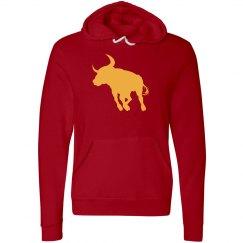 Red Spanish Bull Hoodie