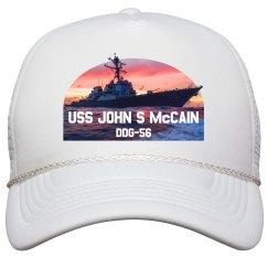 U.S.S. John S. McCain Cap