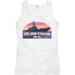 U.S.S. John S. McCain Tank