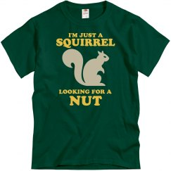 A Squirrel Lookin 4 A Nut