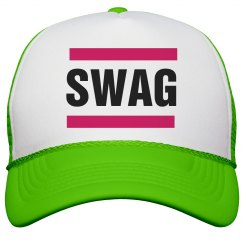 Swag Neon Pink Hat