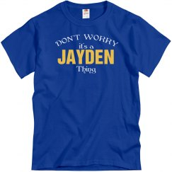 It's a Jayden thing