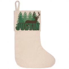 Lake House Stocking - Justin