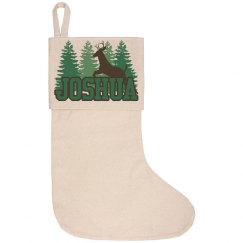 Lake House Stocking - Joshua