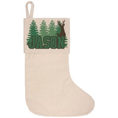 Lake House Stocking - Jason