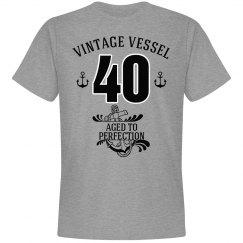 Nautical 40th birthday