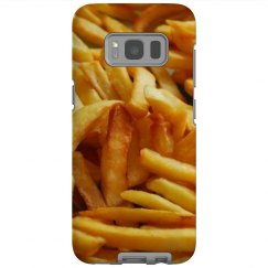 Funny Fry Print Galaxy Case