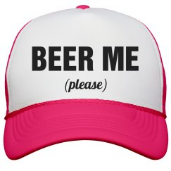 Beer Me Please Neon Hat
