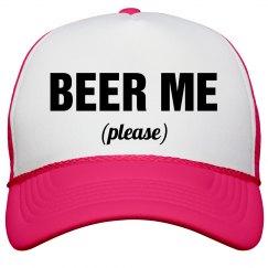 Beer Me Please Neon Hat