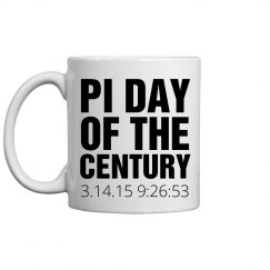Pi Day of the Century Mug
