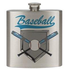 Baseball Flask