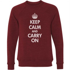 Keep Calm Sweatshirt
