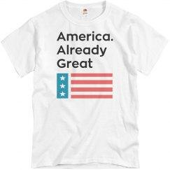 America. Already Great