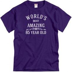 Amazing 85 year old