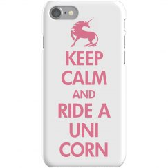 Keep Calm Ride A Unicorn