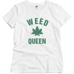 Simple Cute Weed Queen
