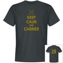 KEEP CALM AND CARRIER