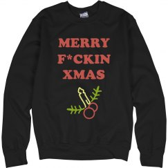 Merry F*ckin Xmas Ugly Sweater
