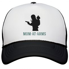 Mom-At-Arms Trucker Hat