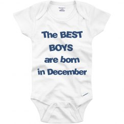 Best boys born in December