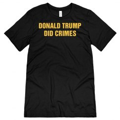 Donald Trump Did Crimes