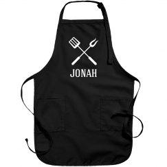 Jonah personalized apron