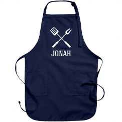 Jonah personalized apron