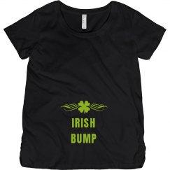Irish Bump Maternity Shirt St. Patricks Day