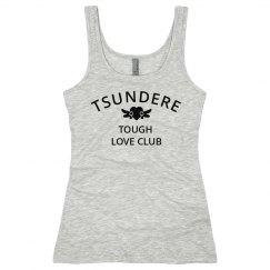 Tsundere Tough Love Club Tank Top