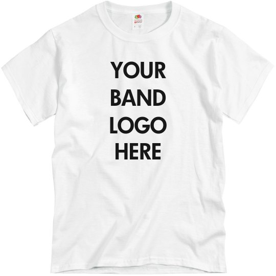 Add Your Band Logo To This Tee