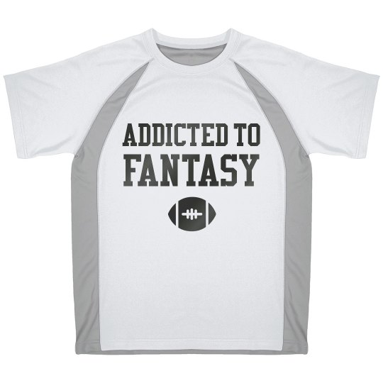 Addicted To Fantasy Sports Tee