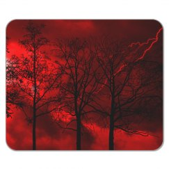 Red Storm Mousepad