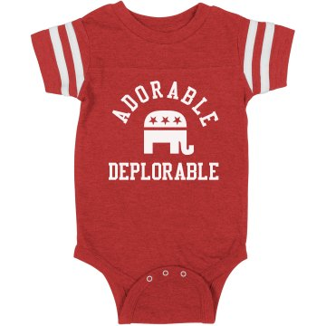 Adorable Deplorable Baby Onesie