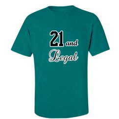 21st Birthday Shirt Men