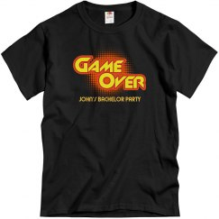 Game Over Bachelor Party