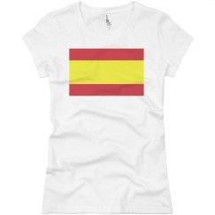 Spanish Flag T-Shirt