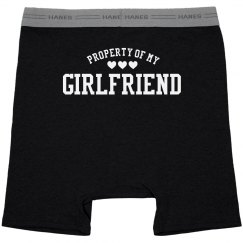 Property Of My Girlfriend Undies