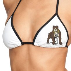 Dog Lover Swim Top