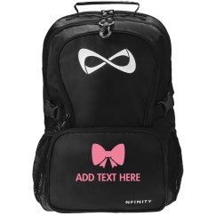 Custom Name Cheerleader Bow Bag