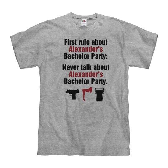 Alex's Bachelor Party